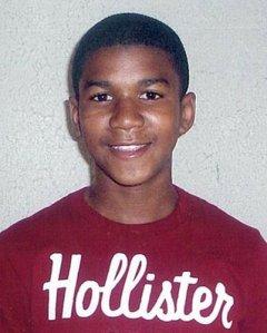Trayvon Martin photo used by the media.
