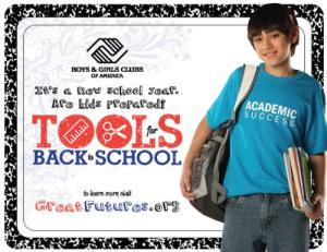 BOYS & GIRLS CLUBS OF AMERICA BACK-TO-SCHOOL