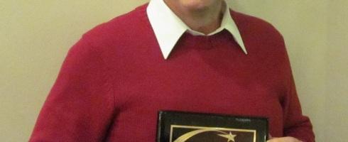 Joe Wzolek receives Highlands Award