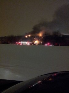 fire at midwest steel in Hammond IN