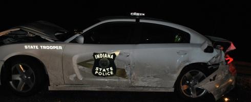 ISP Vehicle crash